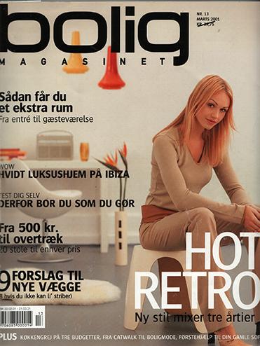 Boligmagasinet frontpage marts